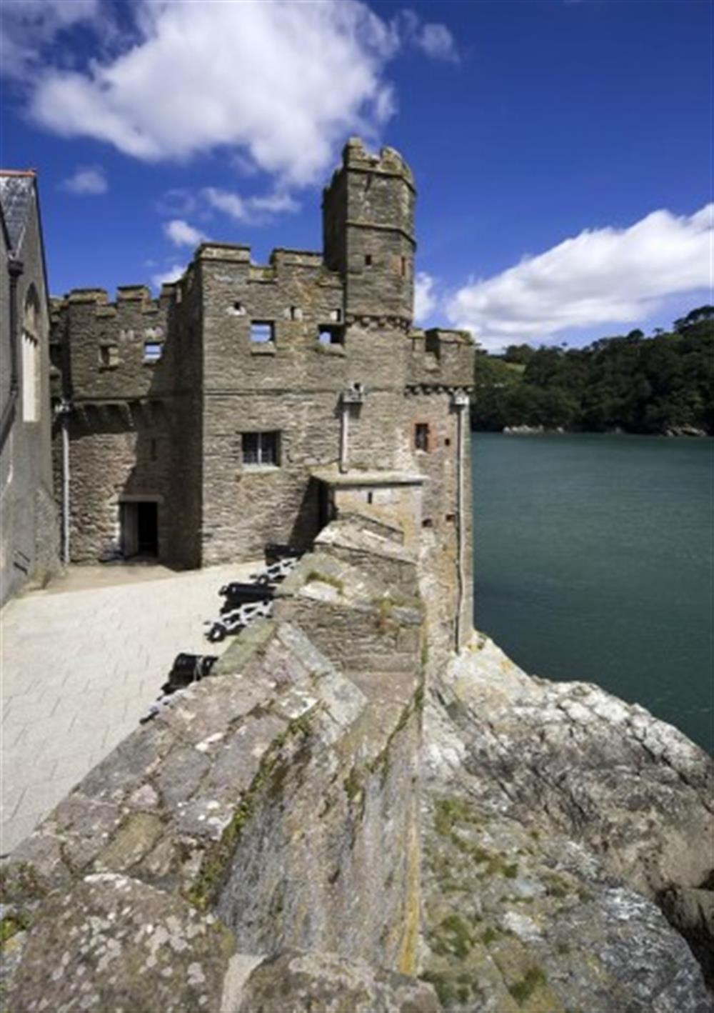 Dartmouth Castle at 2A Mayflower Court, Dartmouth