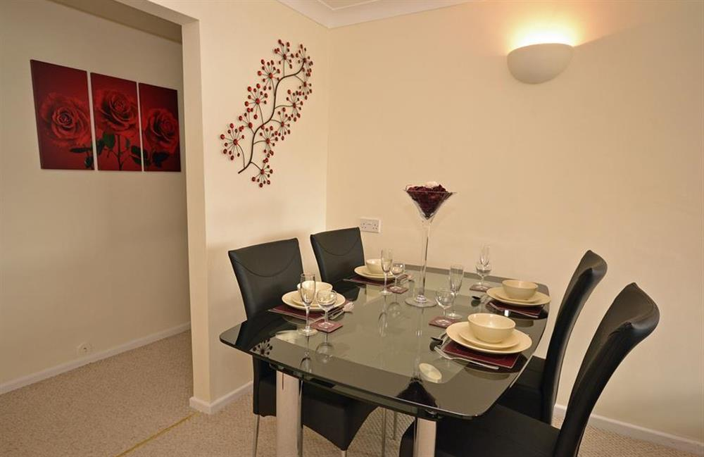 The dining area at 2A Mayflower Court, Dartmouth