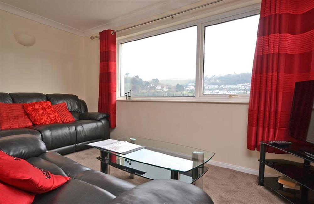The living room at 2A Mayflower Court, Dartmouth