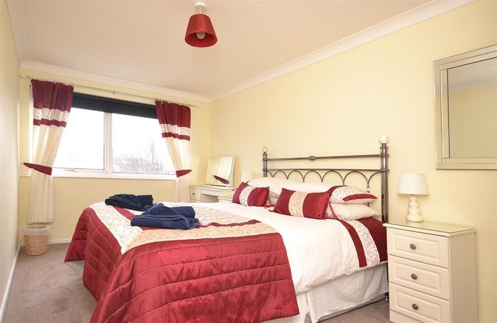 The master bedroom with views at 2A Mayflower Court, Dartmouth