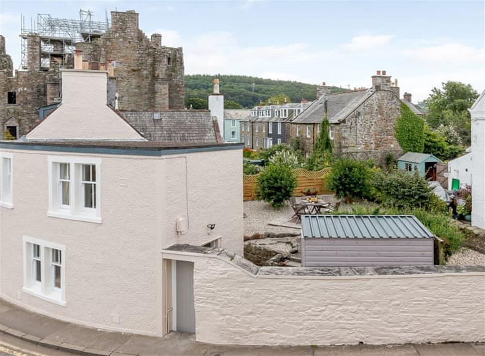 Exterior at 3 Castlebank in Kirkcudbright, Kirkcudbrightshire