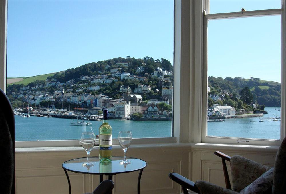 Lovely views over the River Dart at 3 Dartview in South Town, Dartmouth