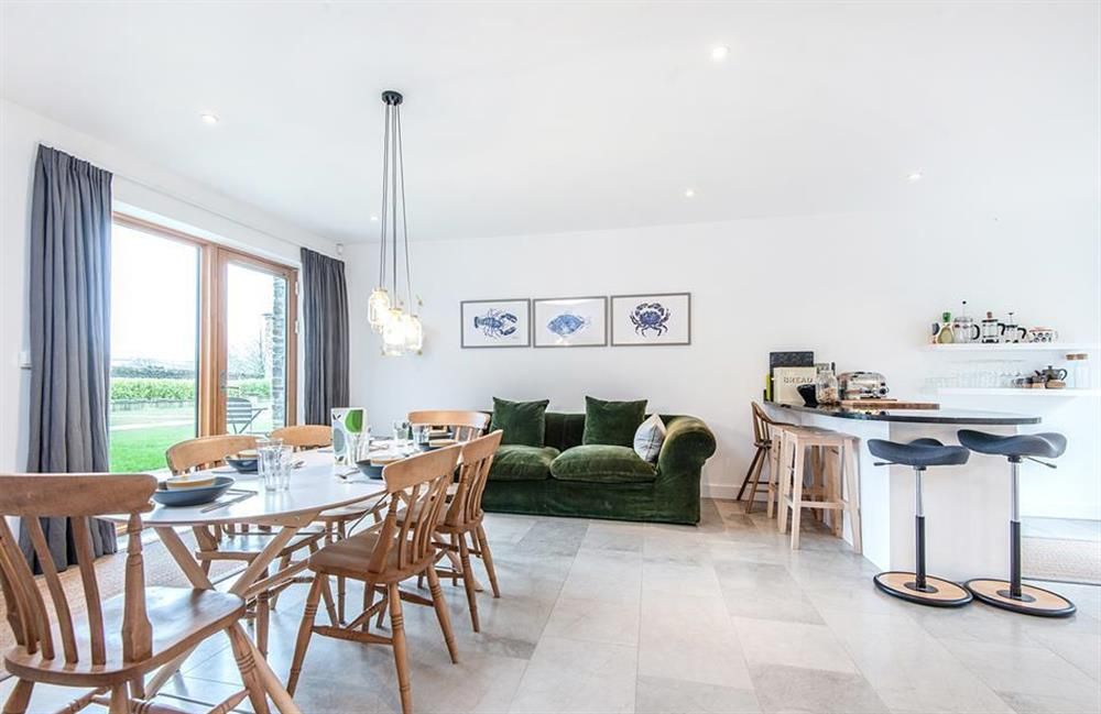 Another view of the dining area at 3 Dufour, East Allington