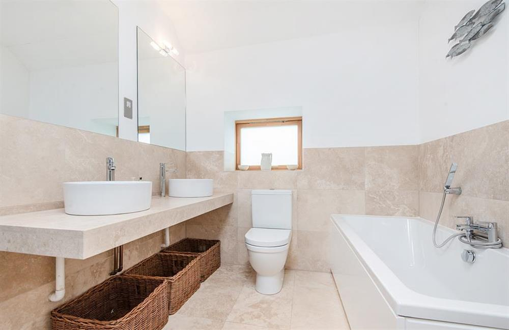 His and Hers sinks in the en suite at 3 Dufour, East Allington