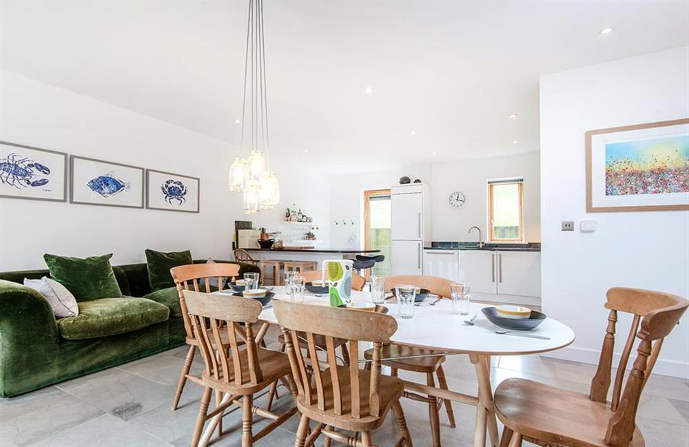 The dining area at 3 Dufour, East Allington