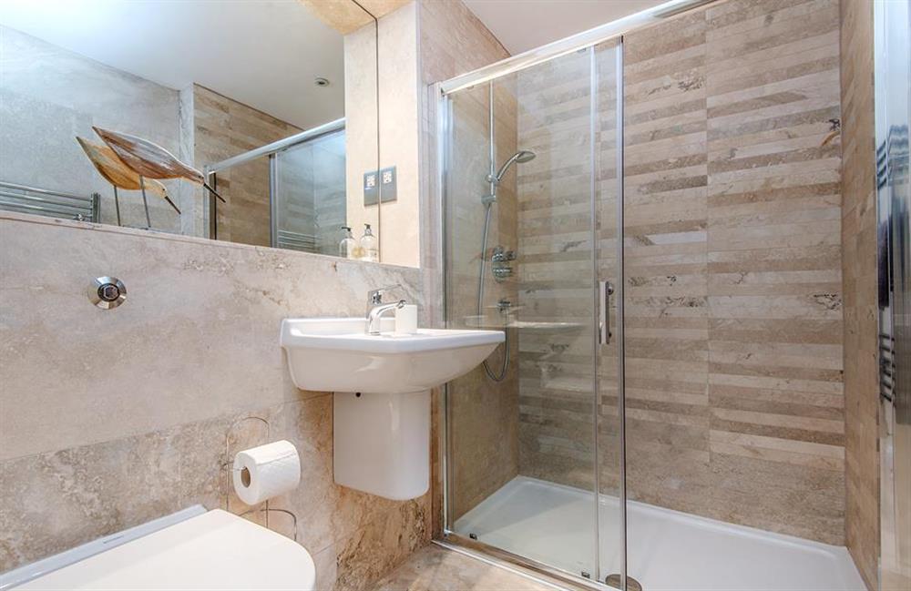 The ground floor shower room at 3 Dufour, East Allington