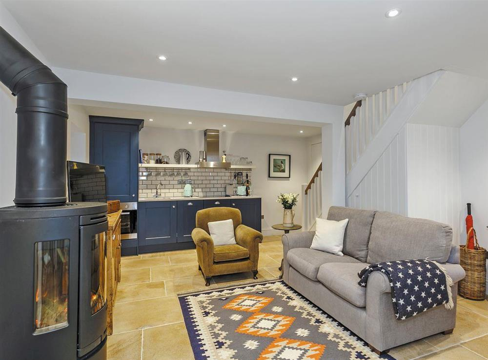 Beautifully decorated open plan living space (photo 2) at 3 Healey Cottage in Shelley, near Huddersfield, West Yorkshire