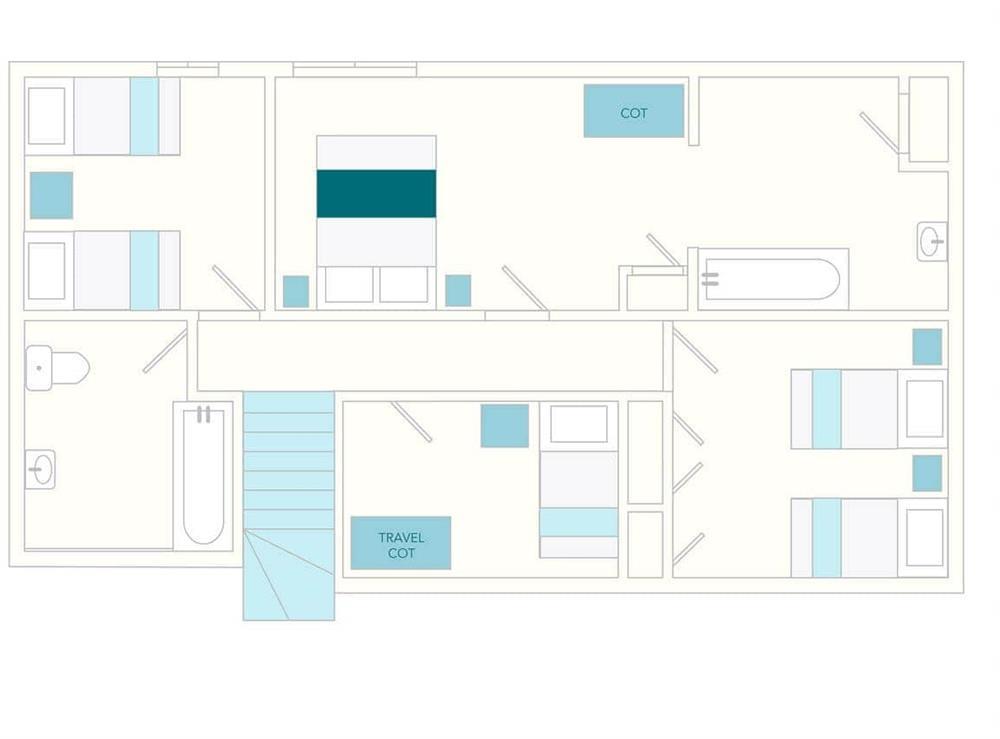3 Salle Cottage Floor Plan - First Floor