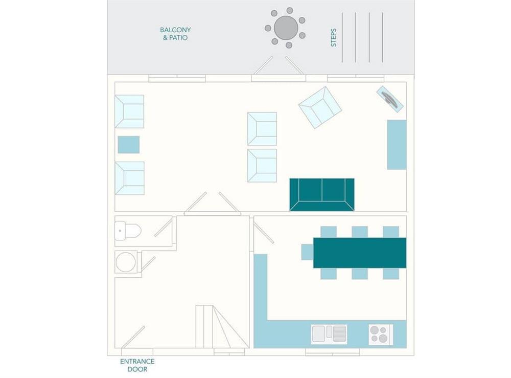 3 Salle Cottage Floor Plan - Ground Floor