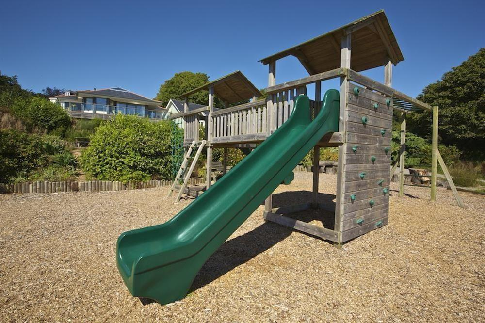 Hillfield Village children's play area at 3 The Drive in , Hillfield, Dartmouth