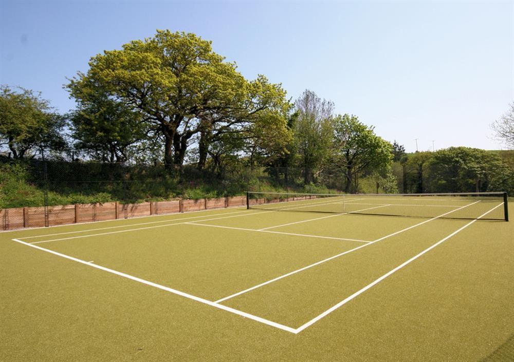 Hillfield Village tennis courts at 3 The Drive in , Hillfield, Dartmouth