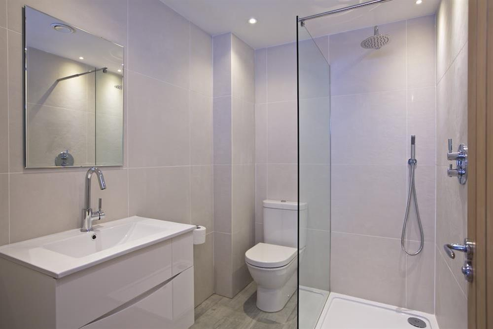 Immaculately presented shower room at 3 The Drive in , Hillfield, Dartmouth