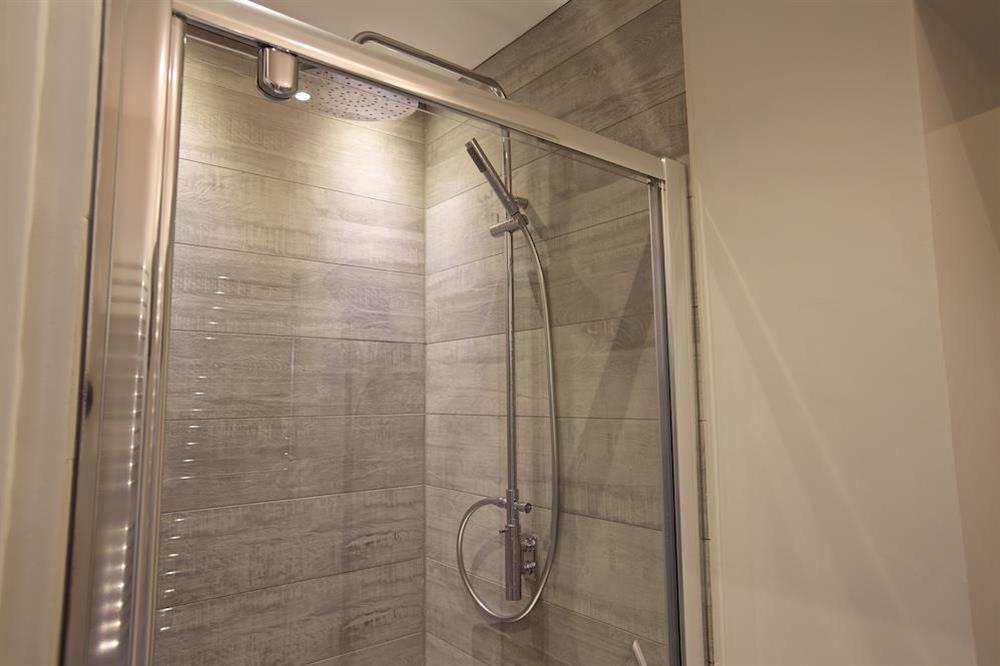 Shower room on the ground floor at 3 The Drive in , Hillfield, Dartmouth