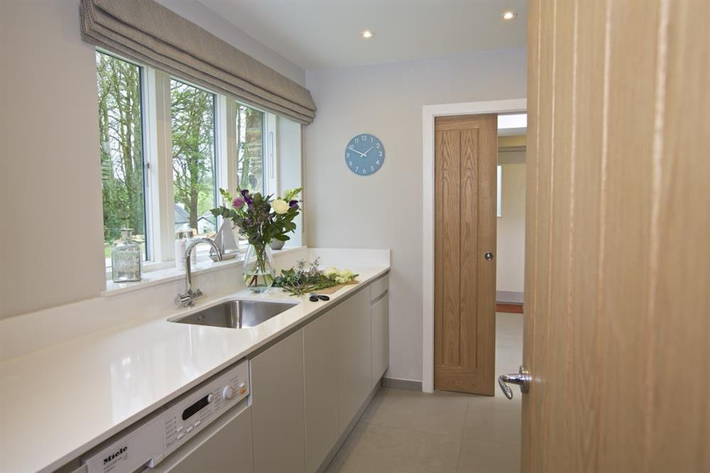 Very well equipped utility room at 3 The Drive in , Hillfield, Dartmouth