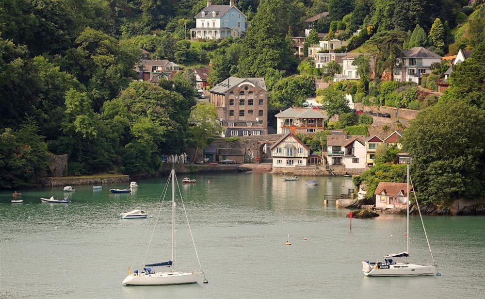 Historic Dartmouth Pottery overlooks Warfleet Creek and the River Dart at 3 The Pottery in , Dartmouth