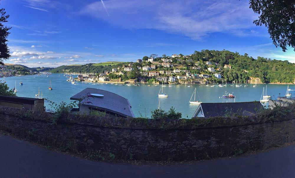 Scenic view on the short walk to Dartmouth at 3 The Pottery in , Dartmouth