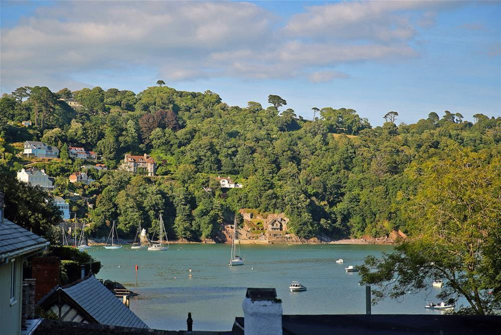 View of the Creek and River Dart from living area at 3 The Pottery in , Dartmouth