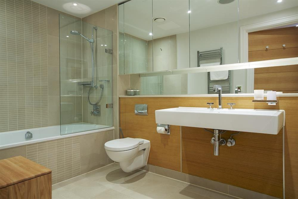 Beautifully presented family bathroom (opposite the second bedroom), at 32 Dart Marina in Dart Marina, Dartmouth