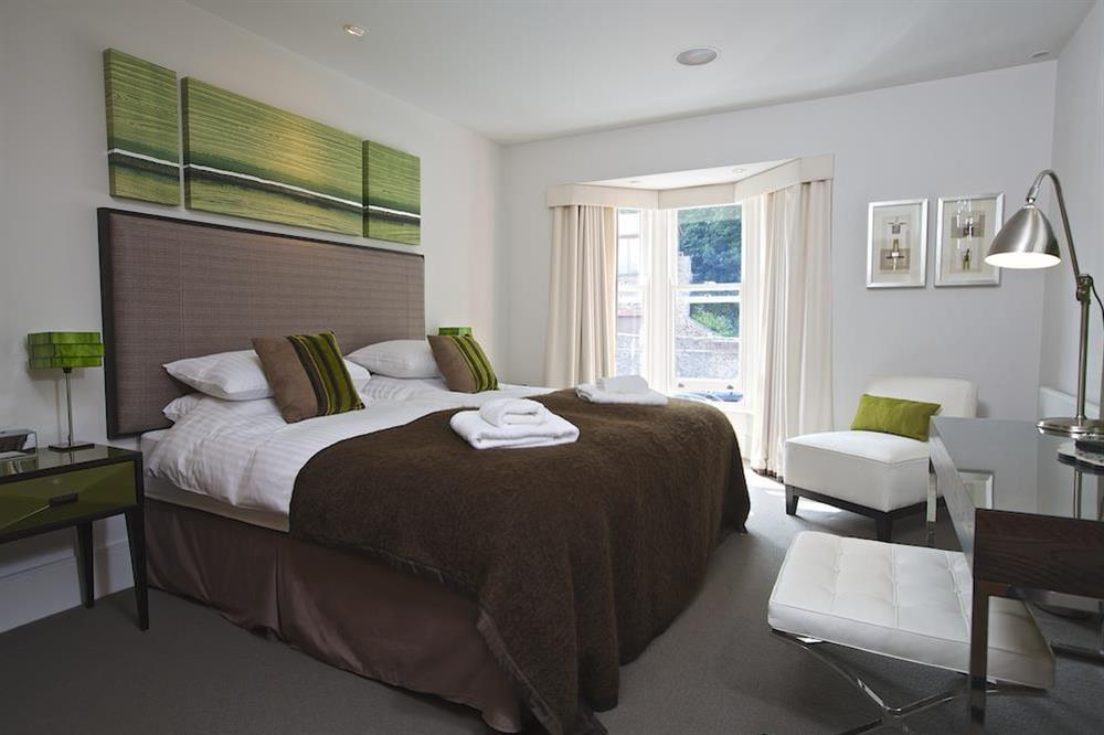 Bedroom two is an elegantly decorated twin (photo 2) at 32 Dart Marina in Dart Marina, Dartmouth