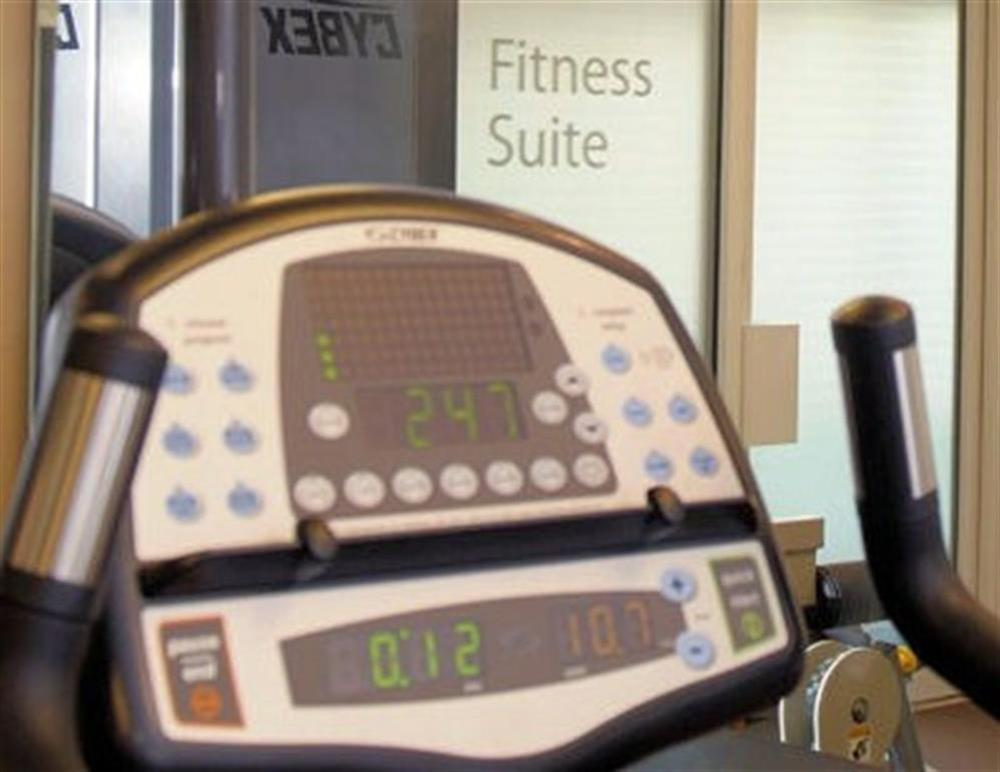 Dart Marina Heath Spa - fully equipped Cybex gymnasium at 35 Dart Marina in Sandquay Road, Dartmouth