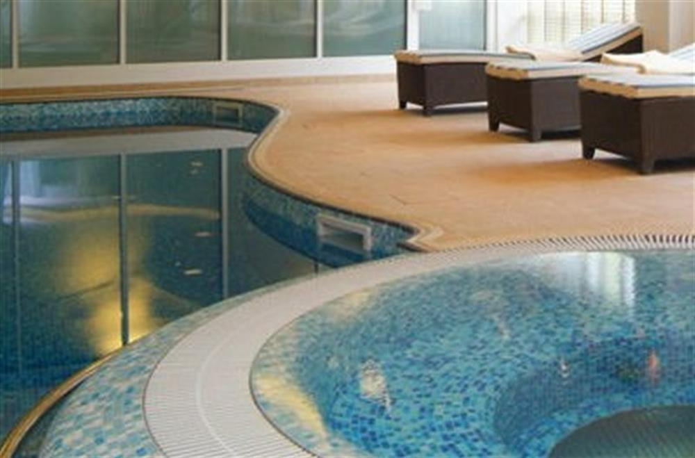 Dart Marina Heath Spa - swimming pool and jacuzzi at 35 Dart Marina in Sandquay Road, Dartmouth