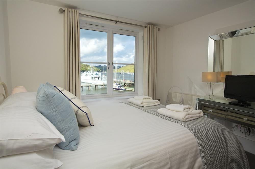 Second double bedroom with lovely views at 35 Dart Marina in Sandquay Road, Dartmouth
