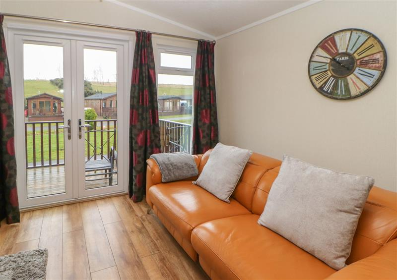 The living room at 36 Badgers Retreat, Tunstall near Catterick
