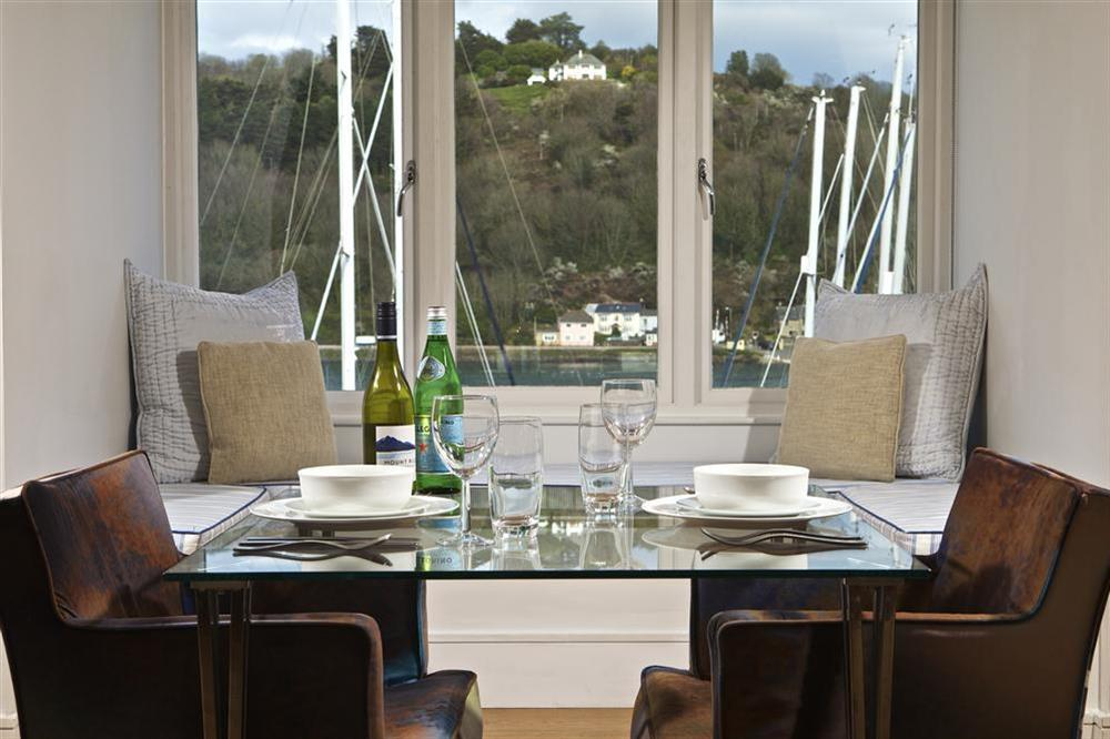 Enjoy a romantic meal for two overlooking the River Dart at 36 Dart Marina in Sandquay Road, Dartmouth