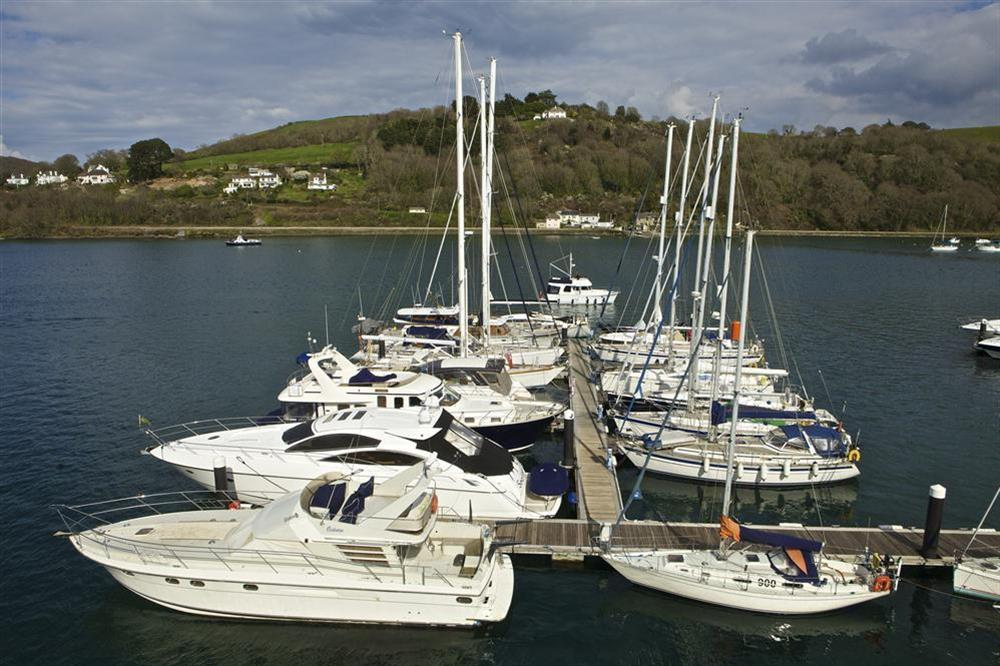 View from the apartment at 36 Dart Marina in Sandquay Road, Dartmouth