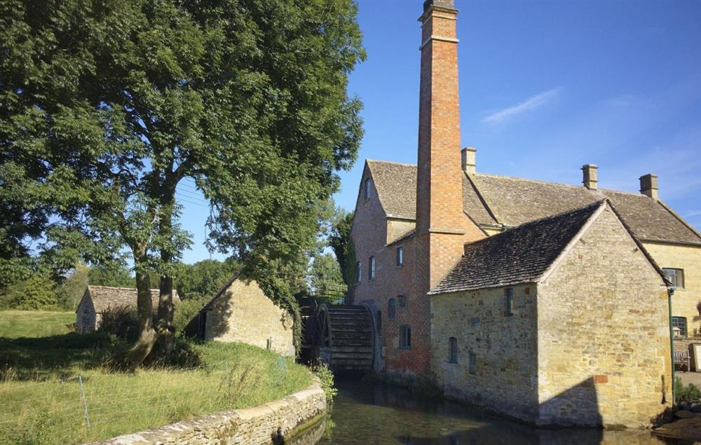 Lower Slaughter Mill and caf� is well worth a visit