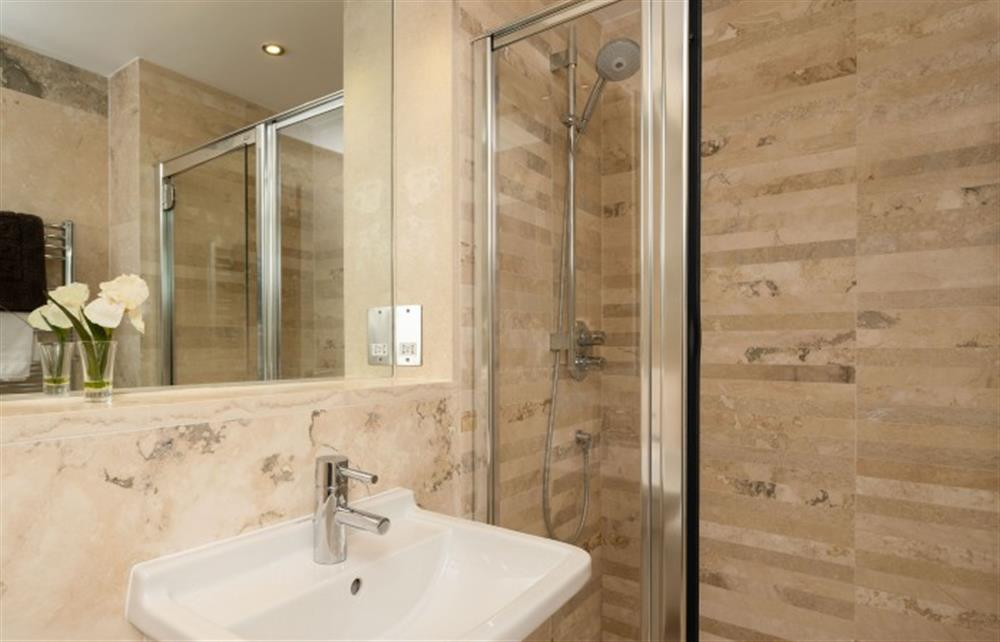Another view of the master bedroom ensuite shower room.  at 4 Bouchard, East Allington