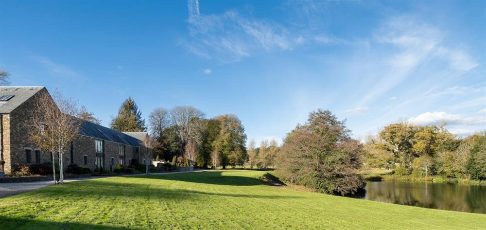 Explore the beautiful surrounding communal grounds at 4 Bouchard, East Allington