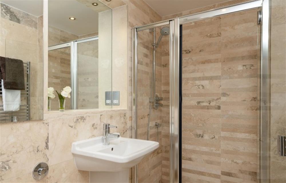 The master bedroom ensuite shower room at 4 Bouchard, East Allington
