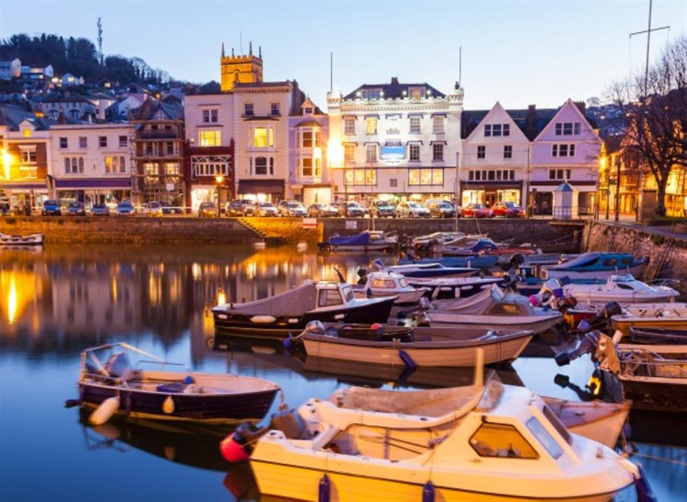 The popular Naval town of Dartmouth is just 8 miles away at 4 Bouchard, East Allington