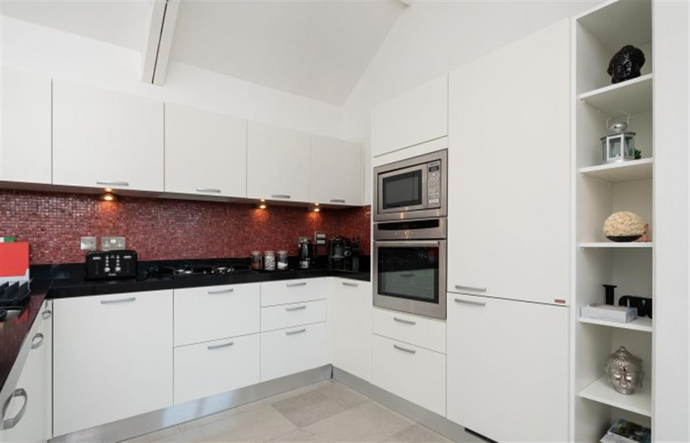 The well-equipped kitchen at 4 Bouchard, East Allington