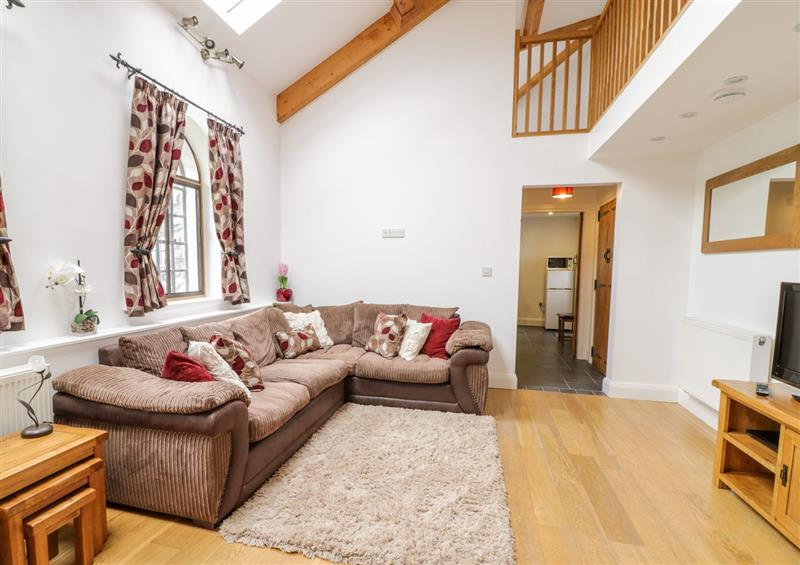 The living room at 4 Bythynnod yr Aran, Bala