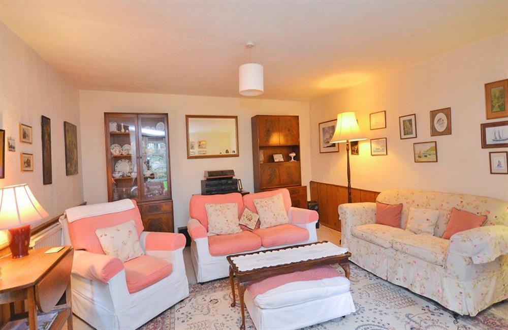Another view of the spacious sitting room at 4 Kings Quay, Dartmouth