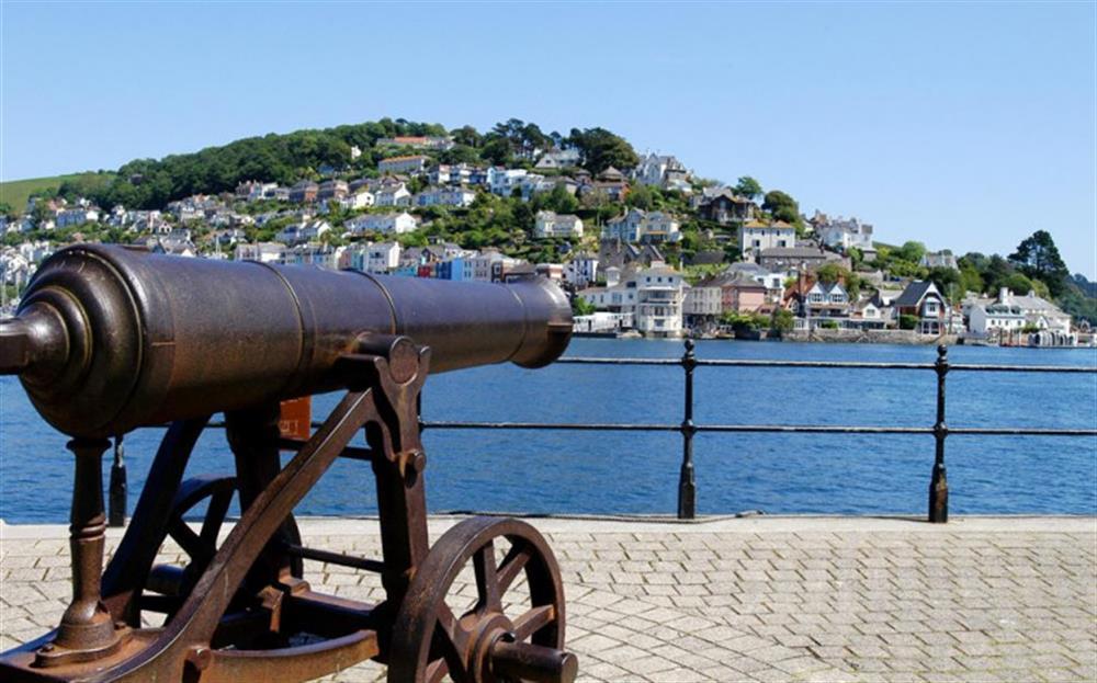 Dartmouth scenary at 4 Kings Quay, Dartmouth