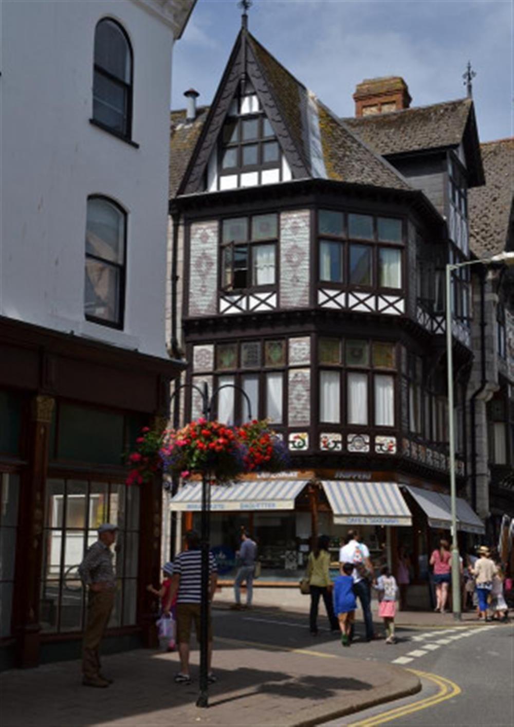 Elizabethan house, Dartmouth at 4 Kings Quay, Dartmouth