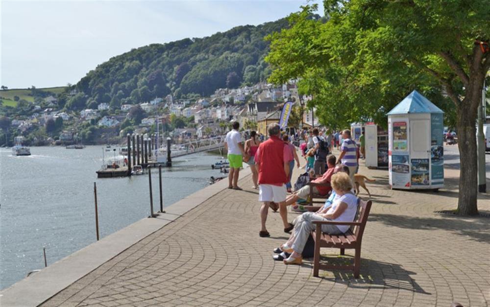 Enjoy a stroll along the nearby Dartmouth Embankment at 4 Kings Quay, Dartmouth