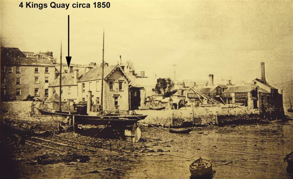 Kings Quay circa 1850 at 4 Kings Quay, Dartmouth