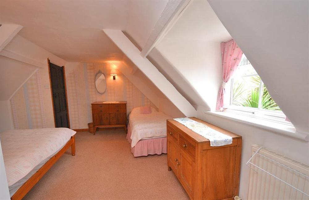 One of the attic bedrooms at 4 Kings Quay, Dartmouth