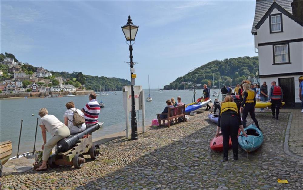 Riverside activities at 4 Kings Quay, Dartmouth