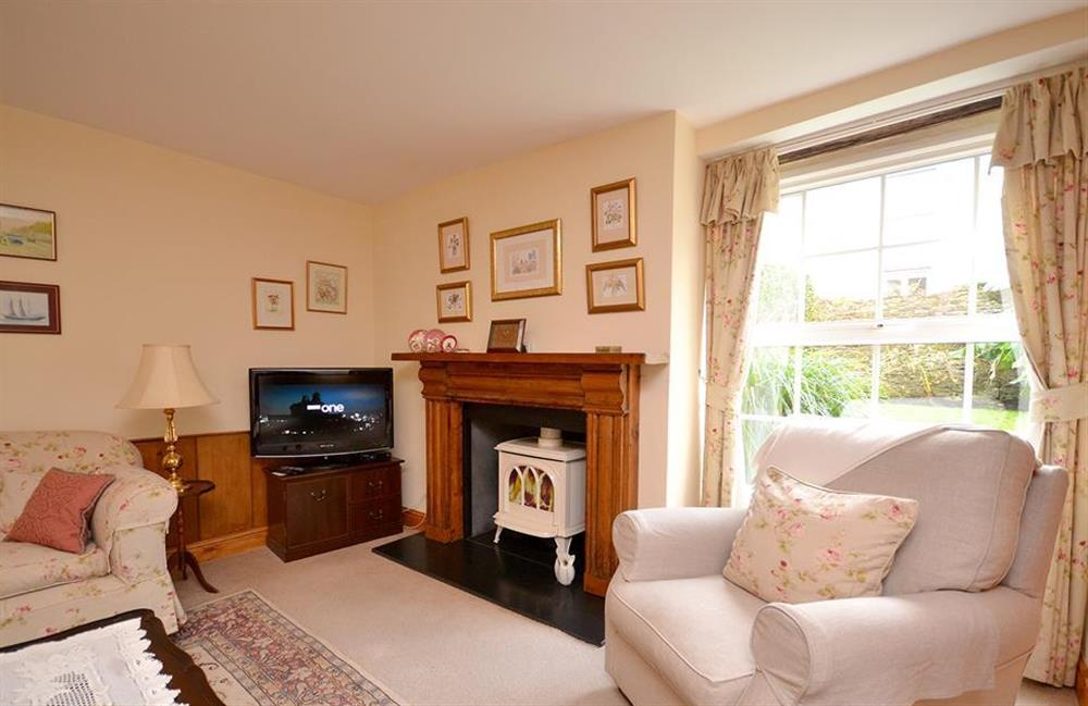 The comfotable and cosy sitting room at 4 Kings Quay, Dartmouth