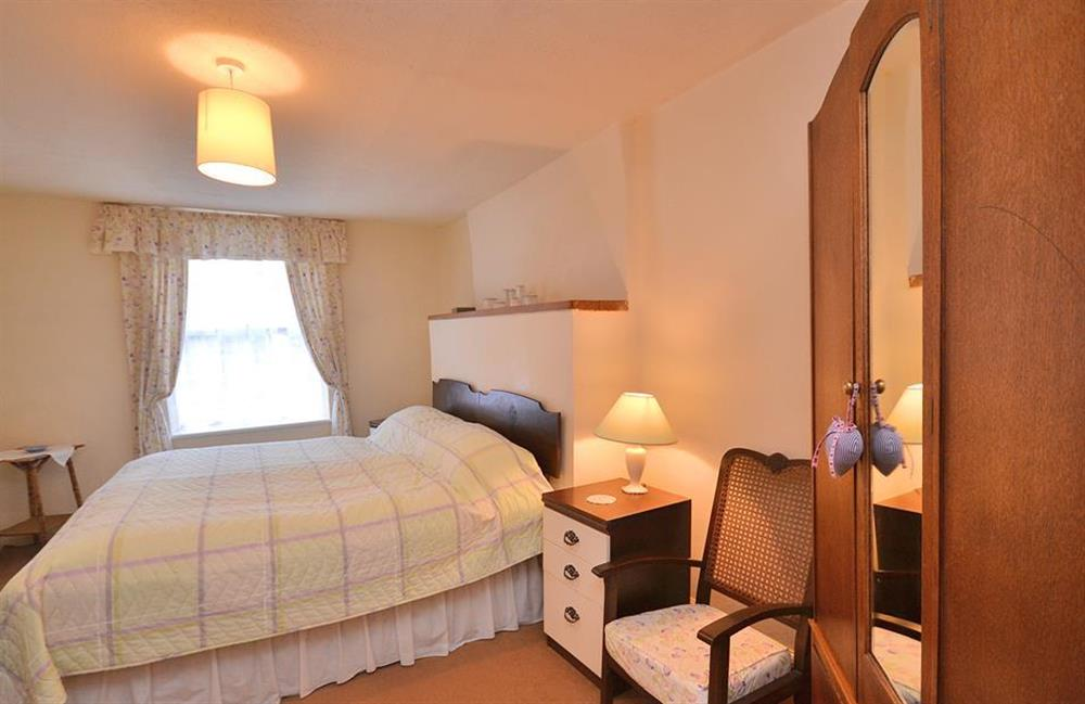 The master bedroom at 4 Kings Quay, Dartmouth