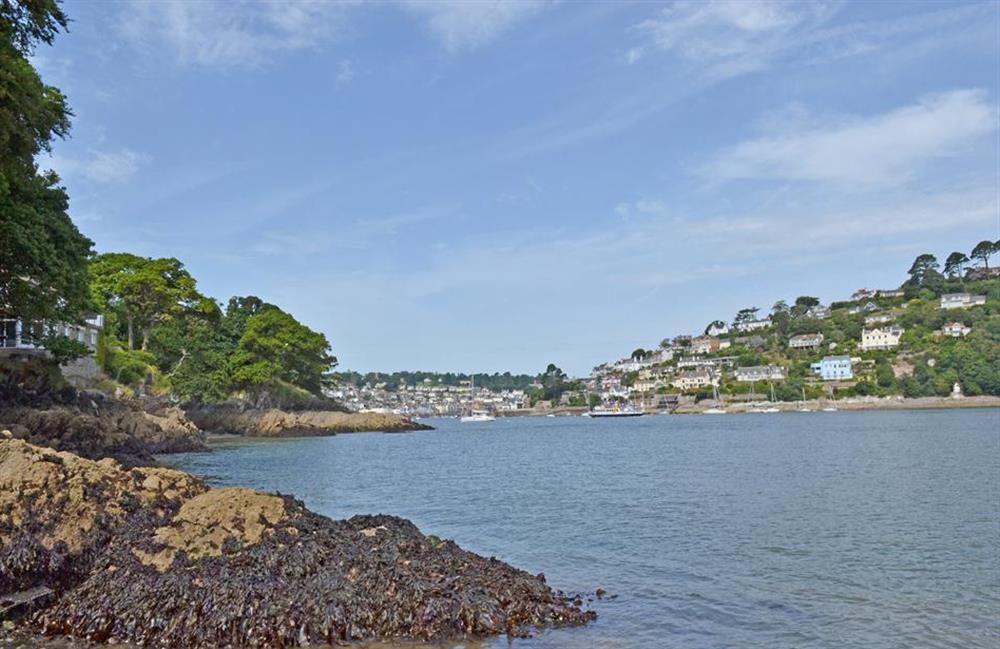 The mouth of the River Dart at 4 Kings Quay, Dartmouth
