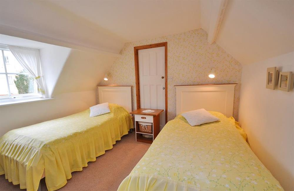 The second attic bedroom at 4 Kings Quay, Dartmouth