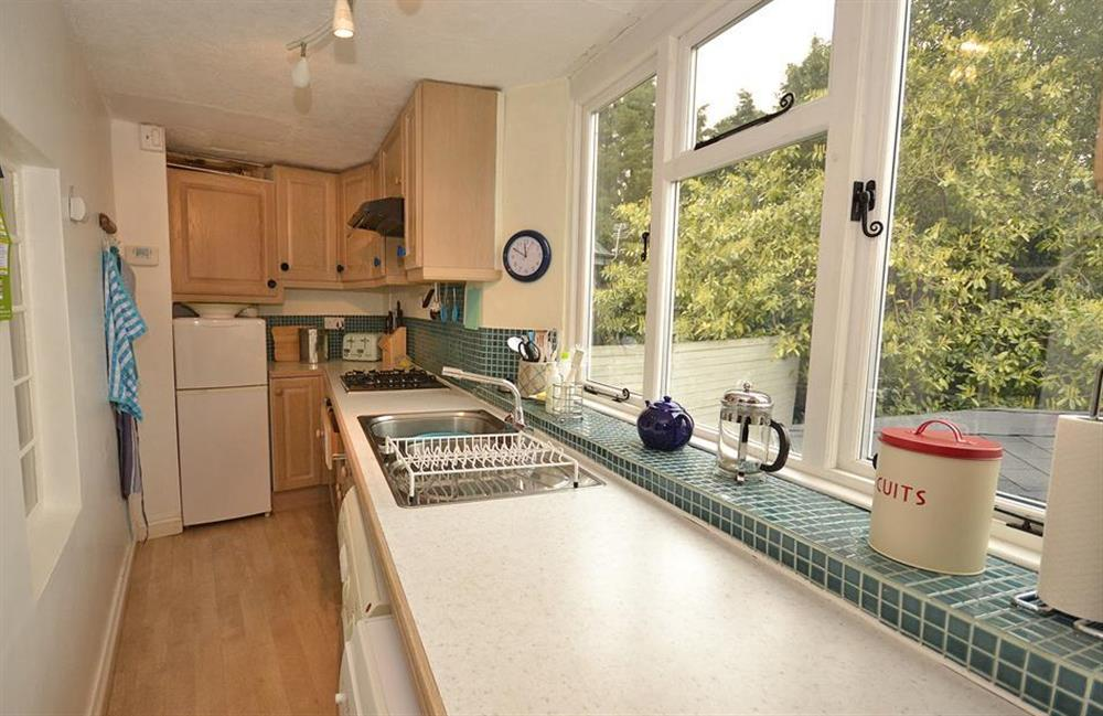 Another view of the kitchen at 4 Ramparts Walk, Totnes