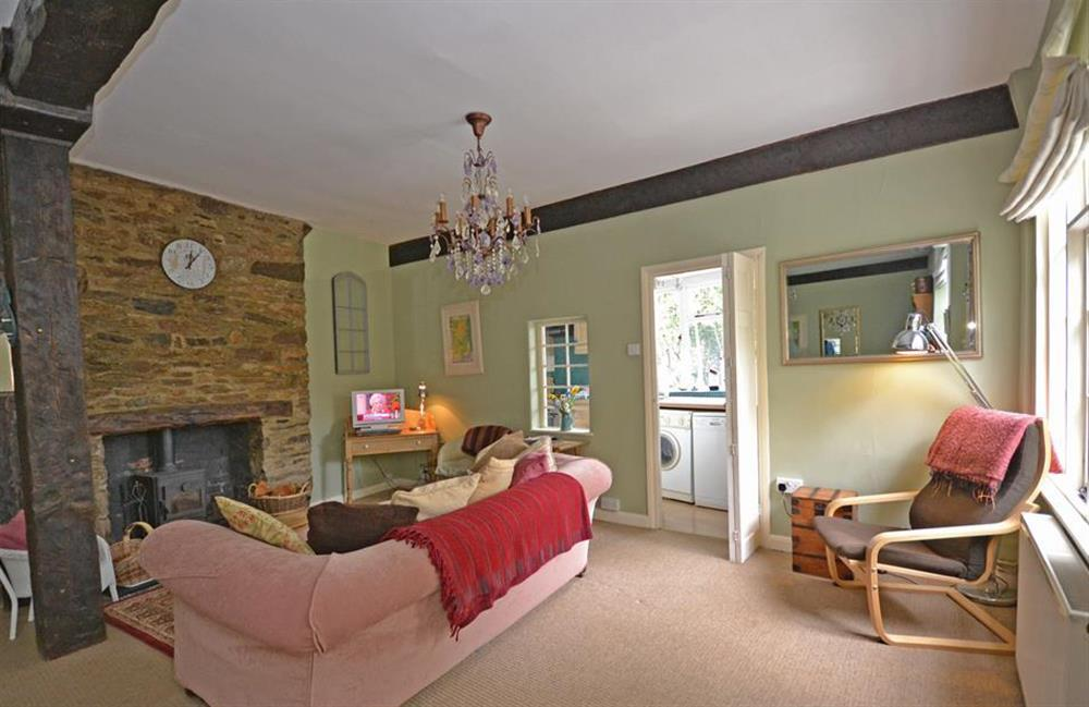 Another view of the living room at 4 Ramparts Walk, Totnes