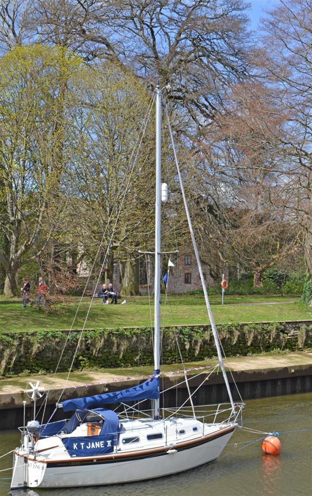 By the water,Totnes at 4 Ramparts Walk, Totnes